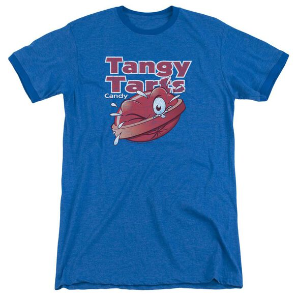 Dubble Bubble Tangy Tarts Adult Heather Ringer Royal Blue