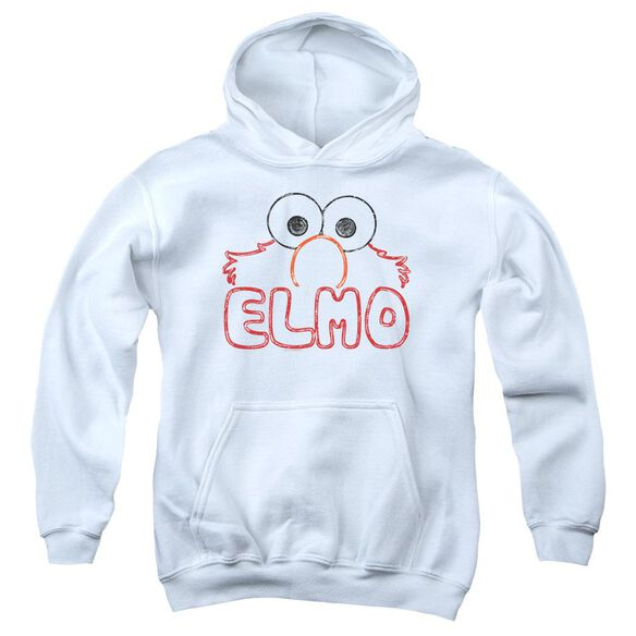 Sesame Street Elmo Letters Youth Pull Over Hoodie