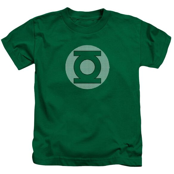 Dc Gl Little Logos Short Sleeve Juvenile Kelly Green T-Shirt