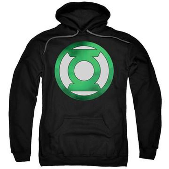 Green Lantern Chrome Logo Pullover Hoodie