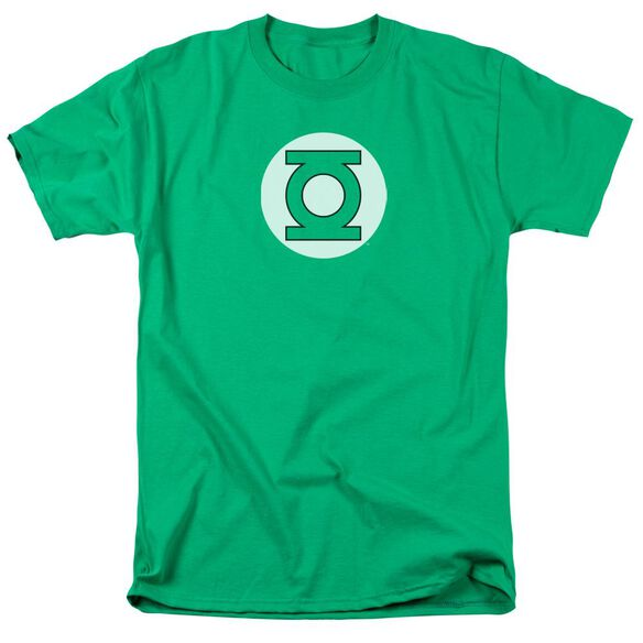 Dc Lantern Logo Short Sleeve Adult Kelly T-Shirt