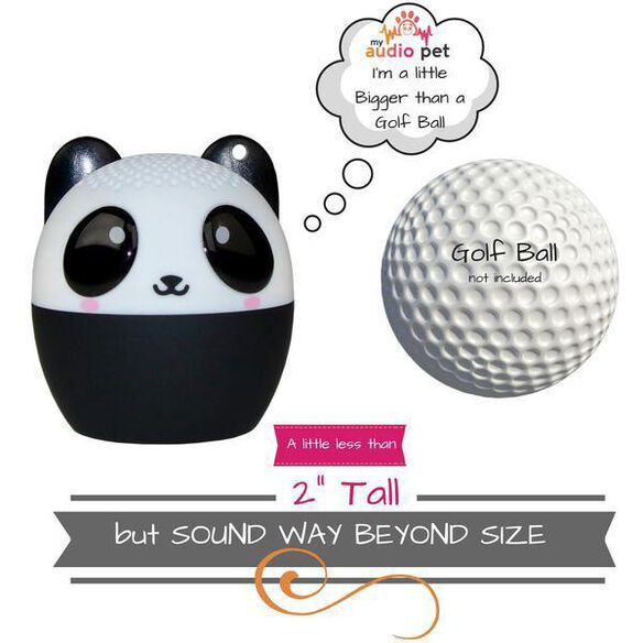 My Audio Pet Mini Bluetooth Wireless Speaker - PANDAmonium