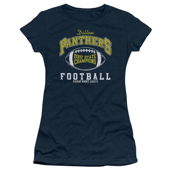 Friday Night Lights State Champs Short Sleeve Junior Sheer T-Shirt