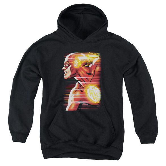 Jla Speed Head Youth Pull Over Hoodie