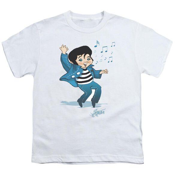Elvis Lil Jailbird Short Sleeve Youth T-Shirt