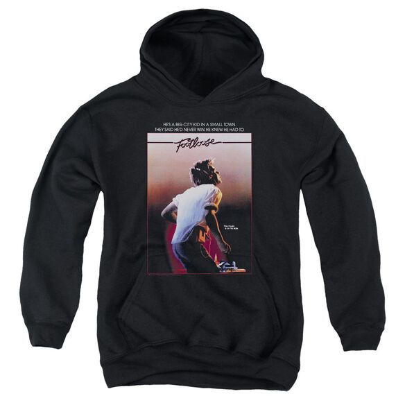 Footloose Poster Youth Pull Over Hoodie