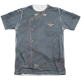 Battlestar Galactica Duty Blue Adult Poly Cotton Short Sleeve Tee T-Shirt