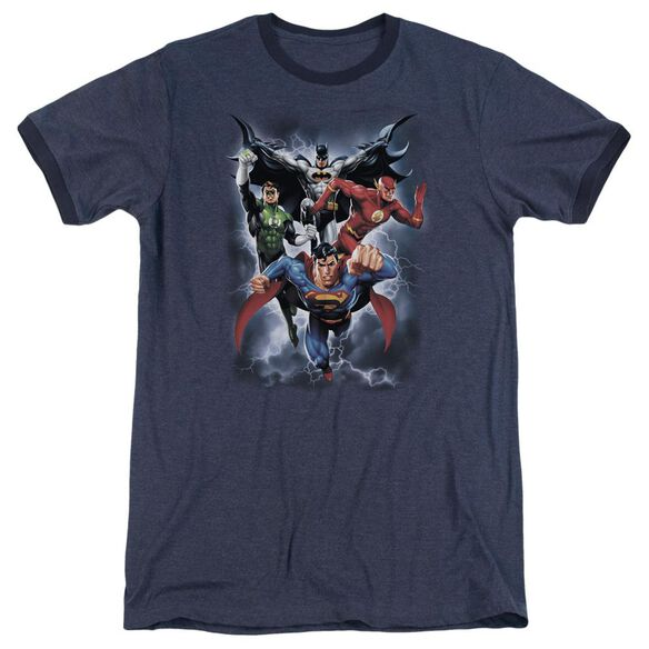Jla The Coming Storm Adult Heather Ringer Navy