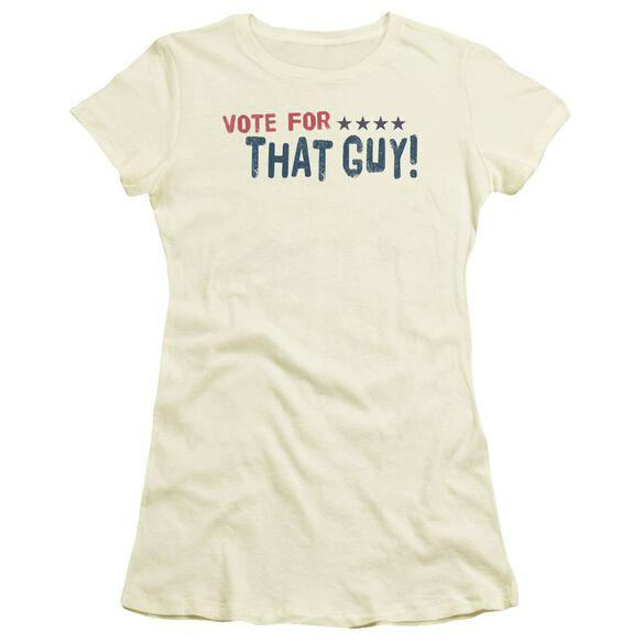 Vote For That Guy Short Sleeve Junior Sheer T-Shirt