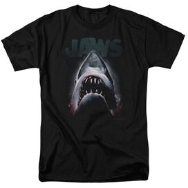 Jaws Terror In The Deep Short Sleeve Adult T-Shirt