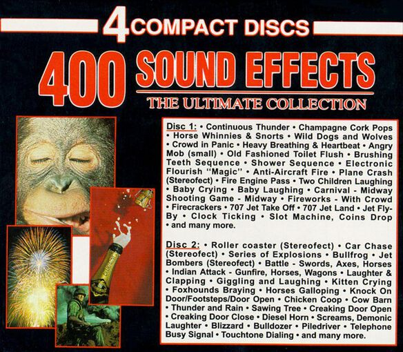 400 Sound Effects 4 Cd1191
