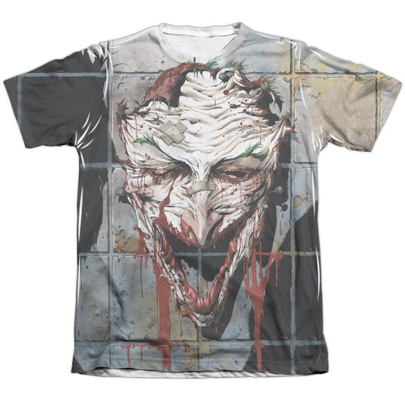 Batman Smile Adult Poly Cotton Short Sleeve Tee T-Shirt