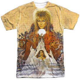 Labyrinth Cover Art Short Sleeve Adult Poly Crew T-Shirt