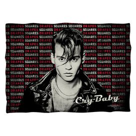 Cry Baby Drapes And Squares Pillow Case