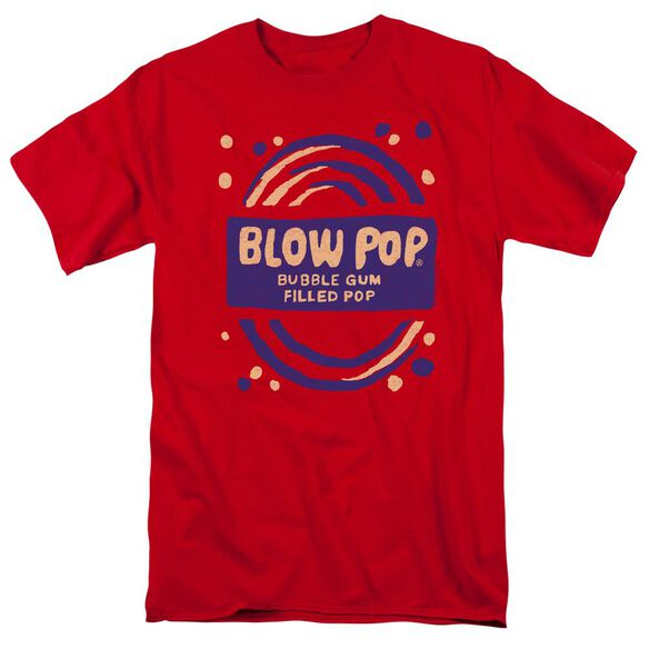 Tootsie Roll Blow Pop Rough Short Sleeve Adult T-Shirt