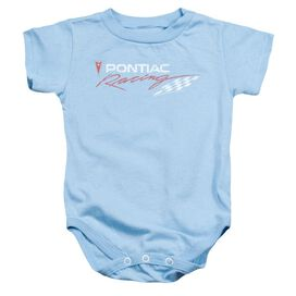 Pontiac Pontiac Racing Rough Hewn Infant Snapsuit Light Blue
