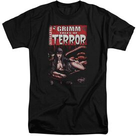 Zenescope Terror Cover Short Sleeve Adult Tall T-Shirt