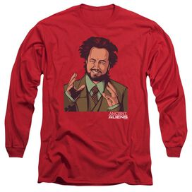 Ancient Aliens It Must Be Aliens Long Sleeve Adult T-Shirt
