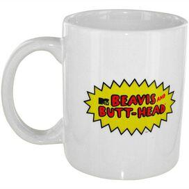 Beavis and Butthead Logo Mug