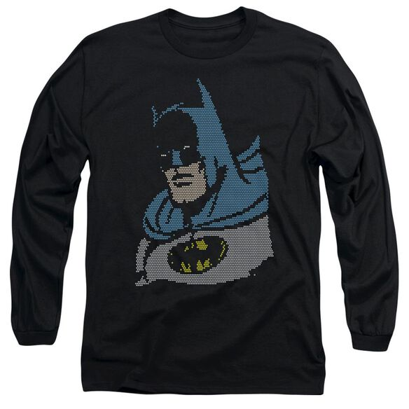 Dc Lite Brite Batman Long Sleeve Adult T-Shirt
