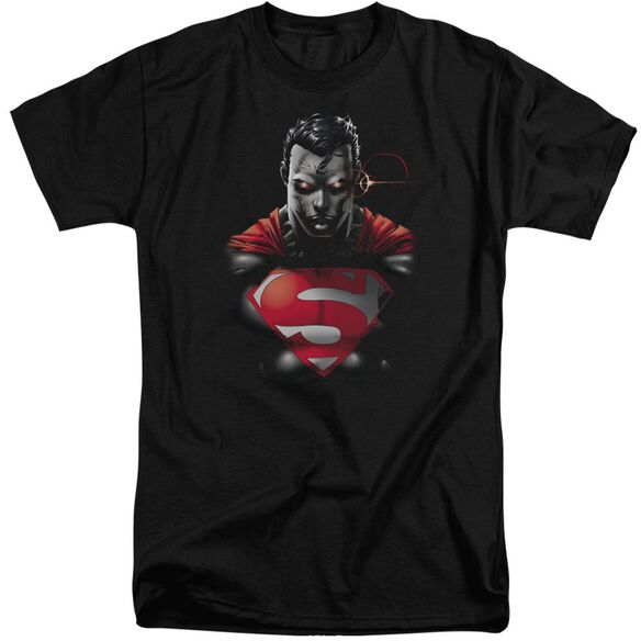 Superman Heat Vision Charged Short Sleeve Adult Tall T-Shirt