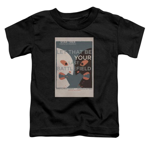 Star Trek Tos Episode 70 Short Sleeve Toddler Tee Black Sm T-Shirt