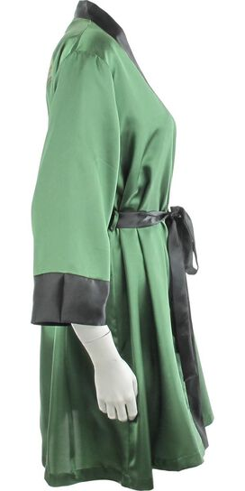 Batman Poison Ivy Bombshell Satin Junior Robe