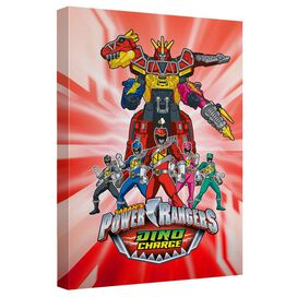 Power Rangers Dino Ranger Quickpro Artwrap Back Board