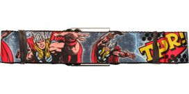 Thor Poses Name Seatbelt Belt