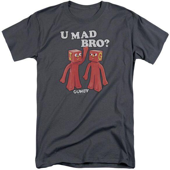 Gumby U Mad Bro Short Sleeve Adult Tall T-Shirt