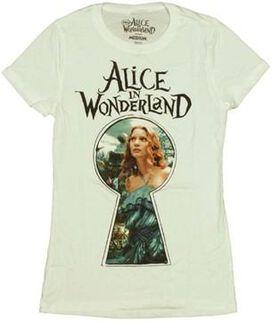 Alice in Wonderland Keyhole Baby Tee