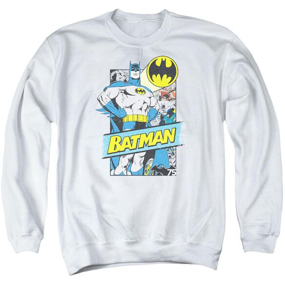 Batman Out Of The Pages Adult Crewneck Sweatshirt