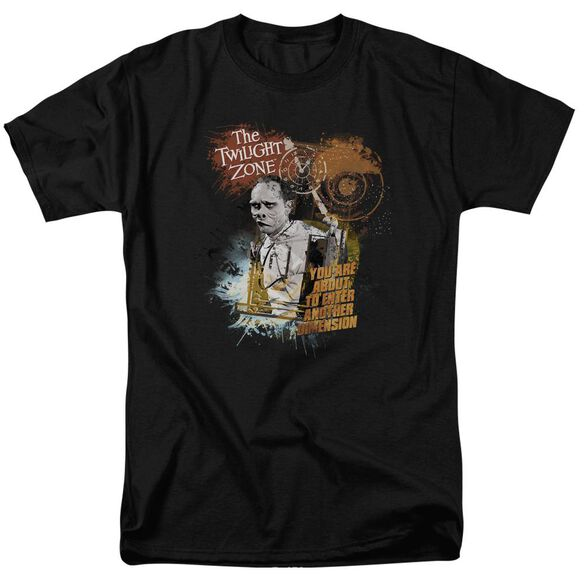 Twilight Zone Enter At Own Risk Short Sleeve Adult T-Shirt