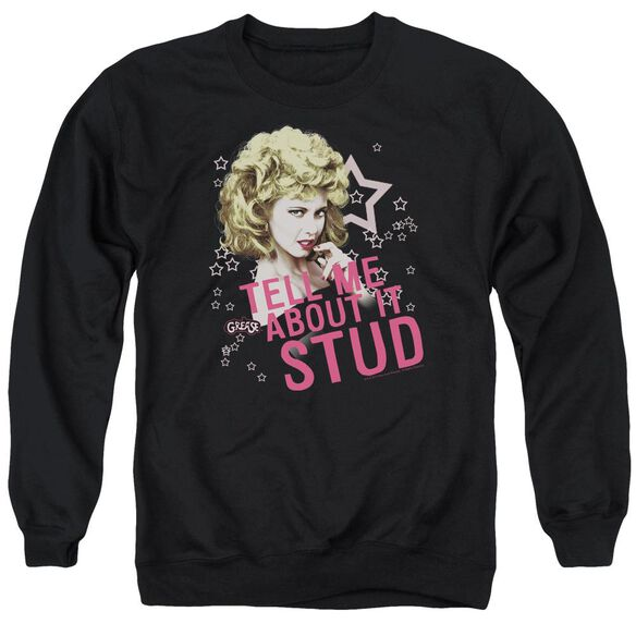 Grease Tell Me About It Stud Adult Crewneck Sweatshirt