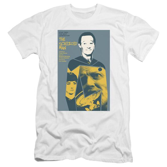 Star Trek Tng Season 2 Episode 6 Premuim Canvas Adult Slim Fit