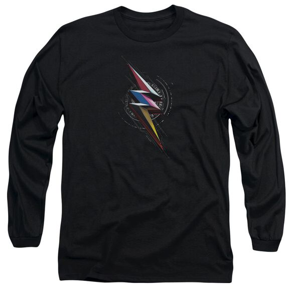 Power Rangers Bolt Sigil Long Sleeve Adult T-Shirt