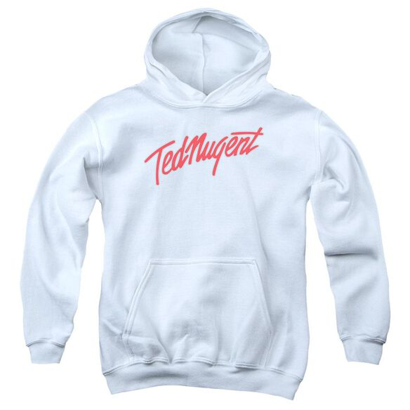 Ted Nugent Clean Logo Youth Pull Over Hoodie