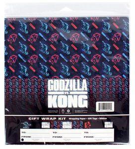Godzilla Vs. Kong Wrapping Paper Kit