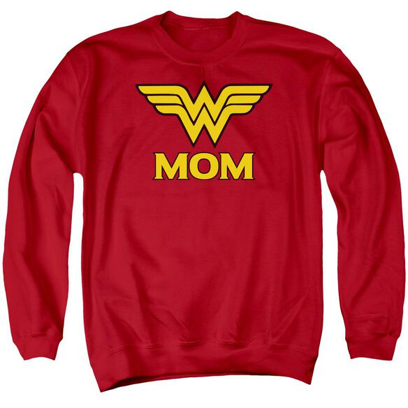 Dco Wonder Mom Adult Crewneck Sweatshirt