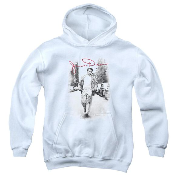 Dean Street Distressed Youth Pull Over Hoodie