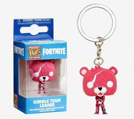 Funko Pocket Pop! Keychain: Fortnite - Cuddle Team Leader