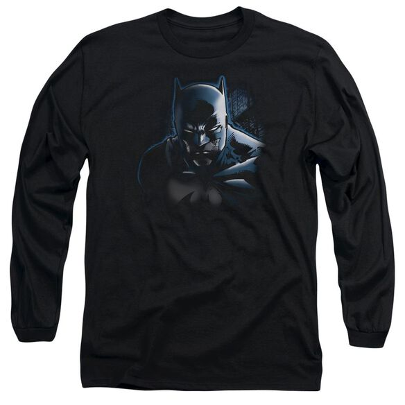 Batman Don't Mess With The Bat Long Sleeve Adult T-Shirt