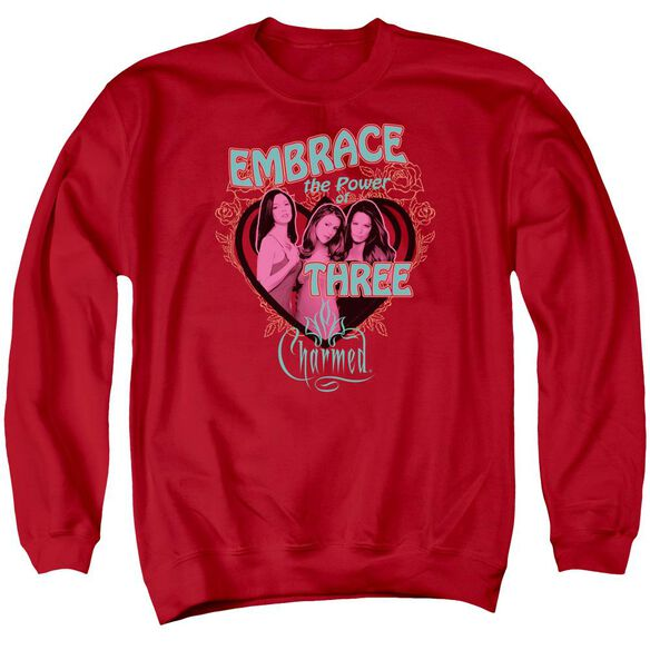 Charmed Embrace The Power Adult Crewneck Sweatshirt
