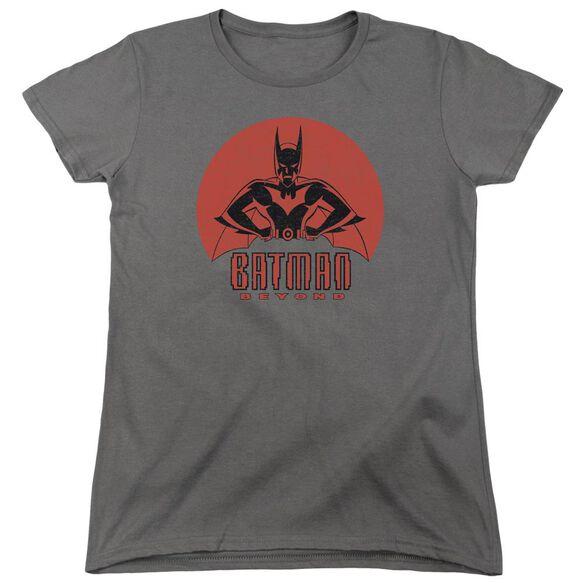 Batman Beyond Stand Tall Short Sleeve Womens Tee T-Shirt