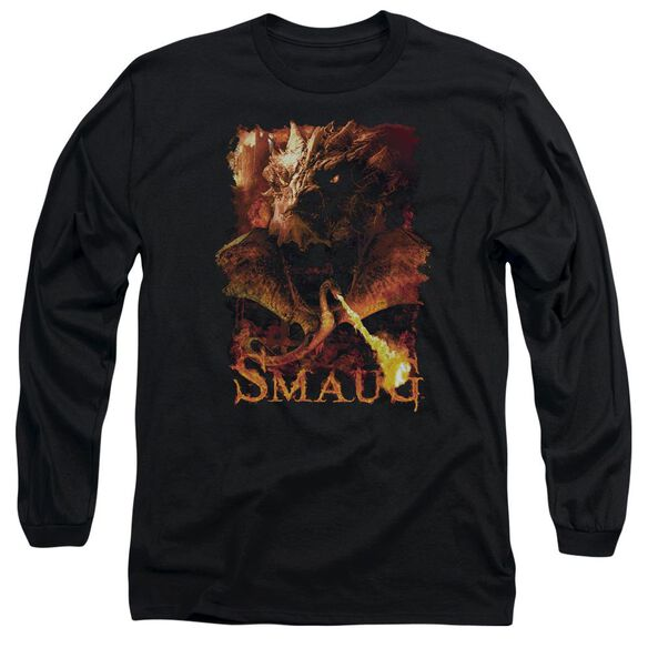 Hobbit Smolder Long Sleeve Adult T-Shirt