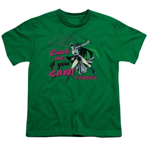 Dc Catch Me Short Sleeve Youth Kelly T-Shirt