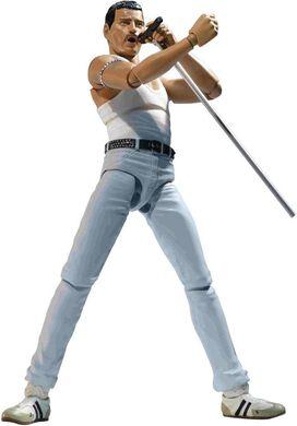 S.H. Figuarts Freddie Mercury Action Figure [Live Aid Variant]
