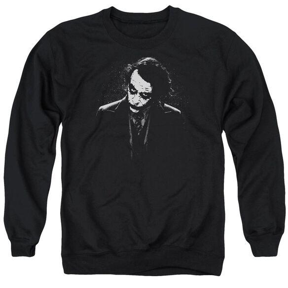 Dark Knight Dark Joker Adult Crewneck Sweatshirt