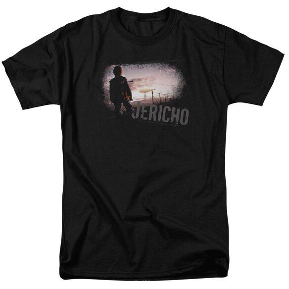 JERICHO MUSHROOM CLOUD - S/S ADULT 18/1 - BLACK T-Shirt