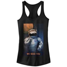 NASA We Need You Tank Top Juniors T-Shirt